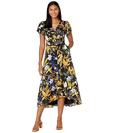 Tahari by ASL Surplus Dress with High-Low Skirt