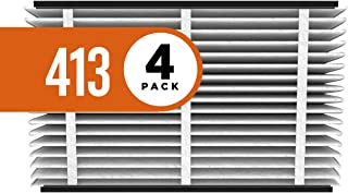 Aprilaire 413 Replacement Air Filter for Aprilaire Whole Home Air Purifiers, Healthy Home Allergy Filter, MERV 13 (Pack of 4)