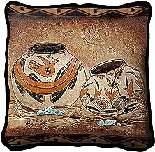 BLACK FOREST DECOR Zuni Pottery Pillow