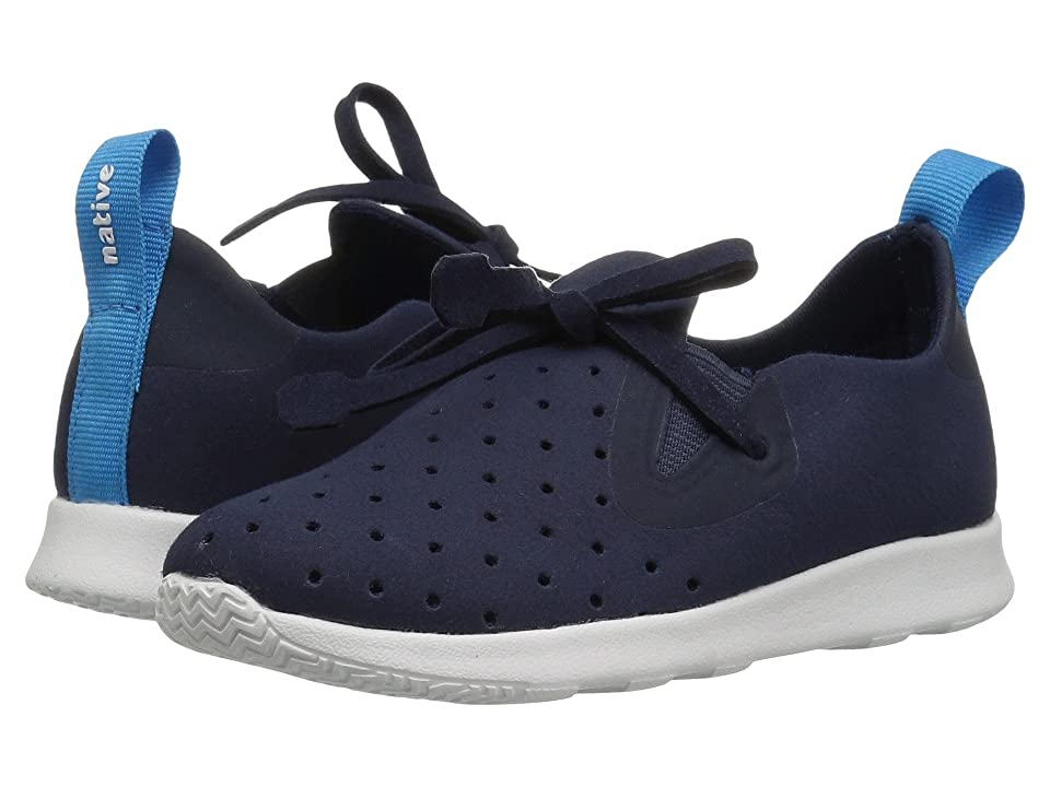 Native Kids Shoes Apollo Moc (Toddler/Little Kid) (Regatta Blue/Shell White) Kids Shoes