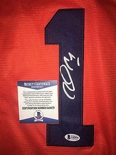 Carlos Correa Autographed Signed Memorabilia Houston Astros Jersey Nickname I Am Groot Star Beckett