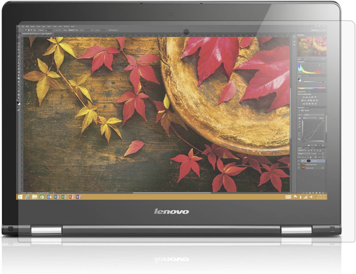 PcProfessional Screen Protector Set of 2 2021 autumn and winter new 3 Flex Lenovo 14 for Attention brand