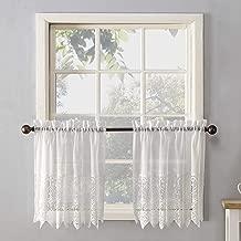 No. 918 Joy Classic Lace Kitchen Curtain Tier Pair, 60