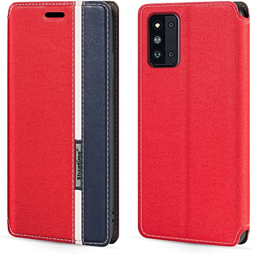 """Samsung Galaxy F52 5G Case,Fashion Multicolor Magnetic Closure Leather Flip Case Cover with Card Holder for Samsung Galaxy F52 5G (6.57"""")"""