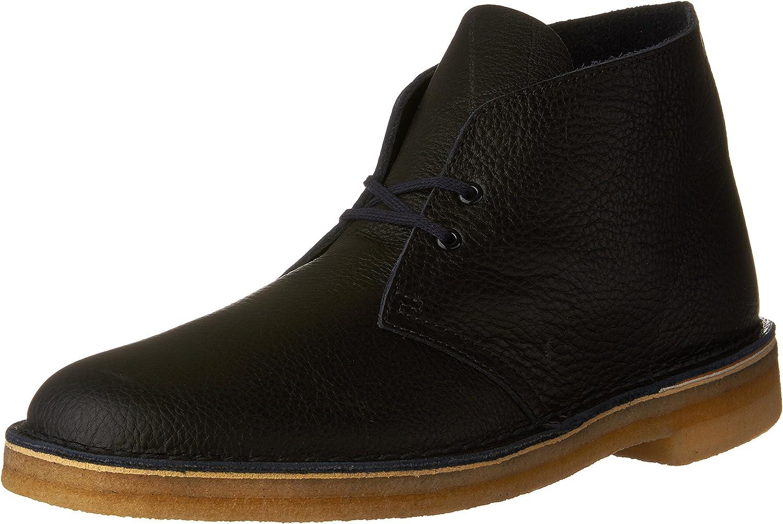 shopping Clarks Men's Vegetable Tan Max 83% OFF Leather Desert Boots