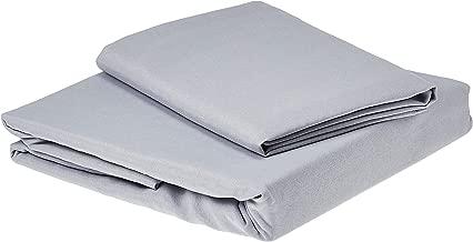 EnLora Home Single Quilt Cover Set (FR)-Duvet Cover: 140 x 200 cm Pillowcase: 60 x 60 cm (1 Piece)