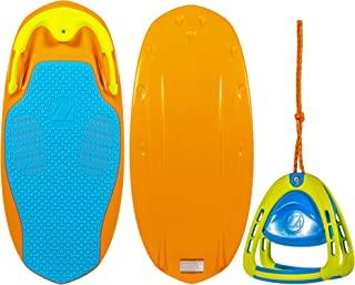 ZUP YouGo Board and 2.0 Handle Combo, All-in-One Kneeboard, Wakeboard, Wakeskate, and Wakesurf Board for All Ages
