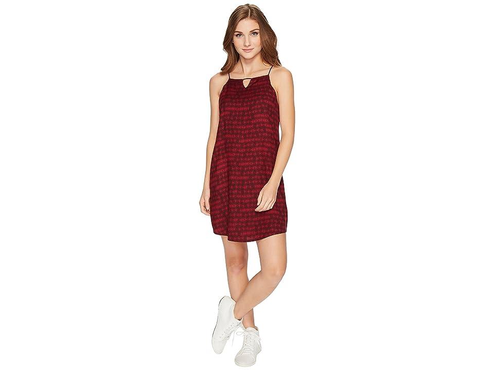 RVCA Payback Dress (Winetasting) Women