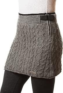 Everest Designs Women's Cable Mini Skirt