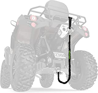 Mud Bandit ATV Recovery Strap with Winch Hook and D Ring Shackle, Tow Rope for Four Wheeler, Quad, UTV, Side by Side, 9000...
