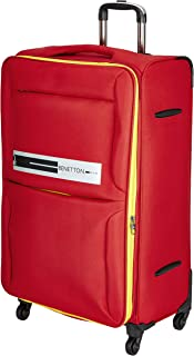 United Colors of Benetton Polyester 70 cms Red Softsided Check-in Luggage (0IP6EAS28F01I)