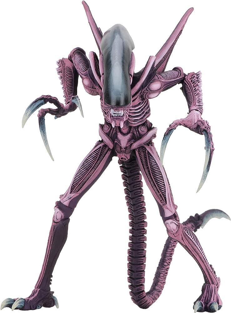 Neca , aliens vs predator 1994 , statuetta di  razor claws xenomorph , 23 cm 51677