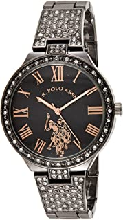 U.S. Polo Assn. Women's Quartz Metal and Alloy Watch, Color:Silver-Toned USC40325