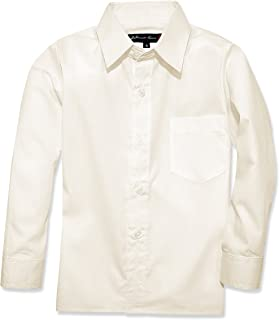 Johnnie Lene Boys Long Sleeves Dress Shirt from Baby to Teen