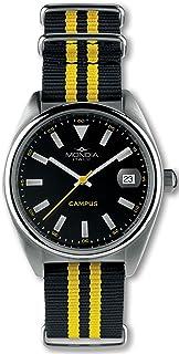 Mondia Campus Mens Analog Japanese Quartz Watch with Nylon Bracelet MI728-1CT