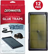 Catchmaster Baited Rat, Mouse and Snake Glue Traps - 12 Glue Trays
