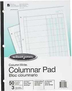 Column Pad, 3 Column, 3-7/16