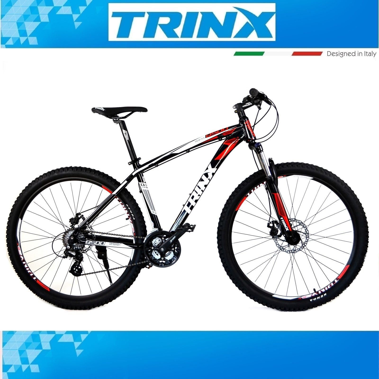 29 pulgadas bicicleta mountain bike trinx Quest 500 MTB 24 ...