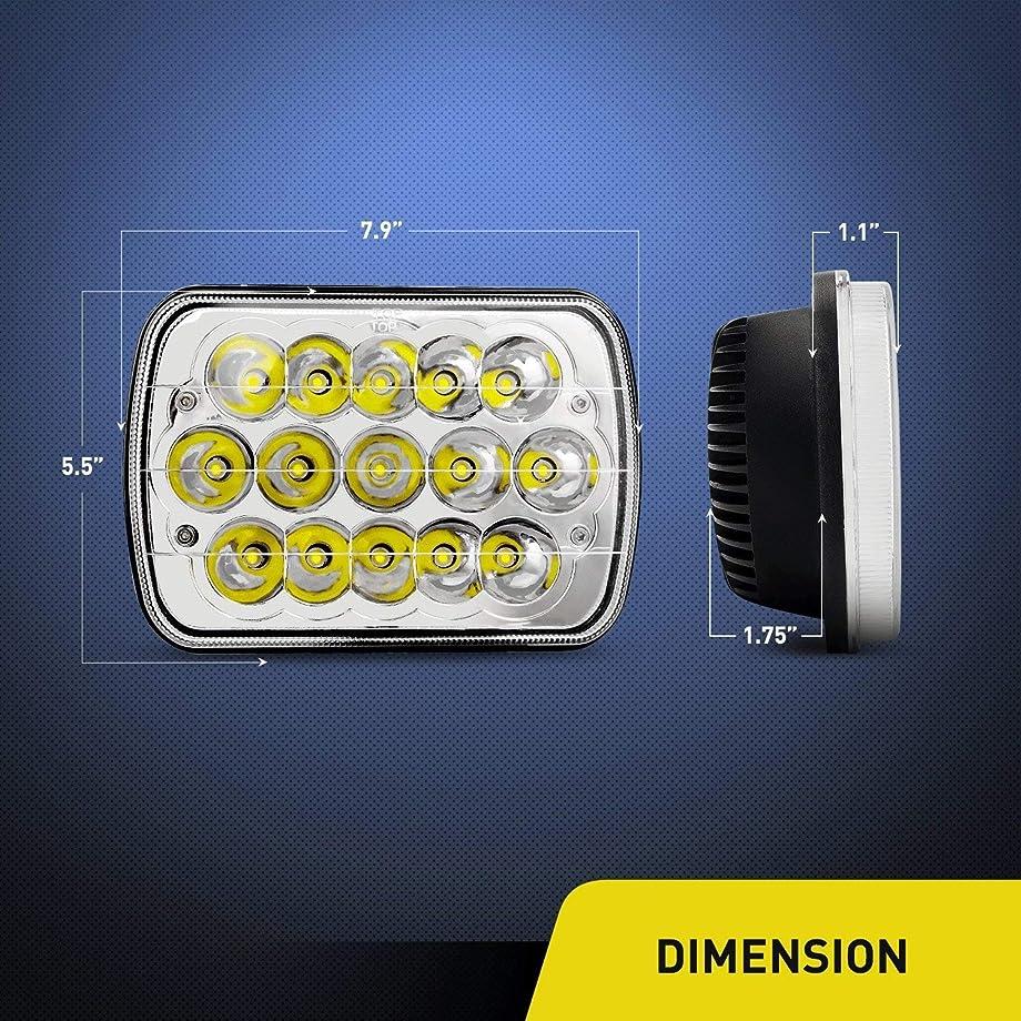 5X7 Philips Headlight