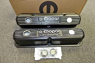 Mopar Performance Cast Aluminum Valve Covers Mopar Small Block LA Engine.