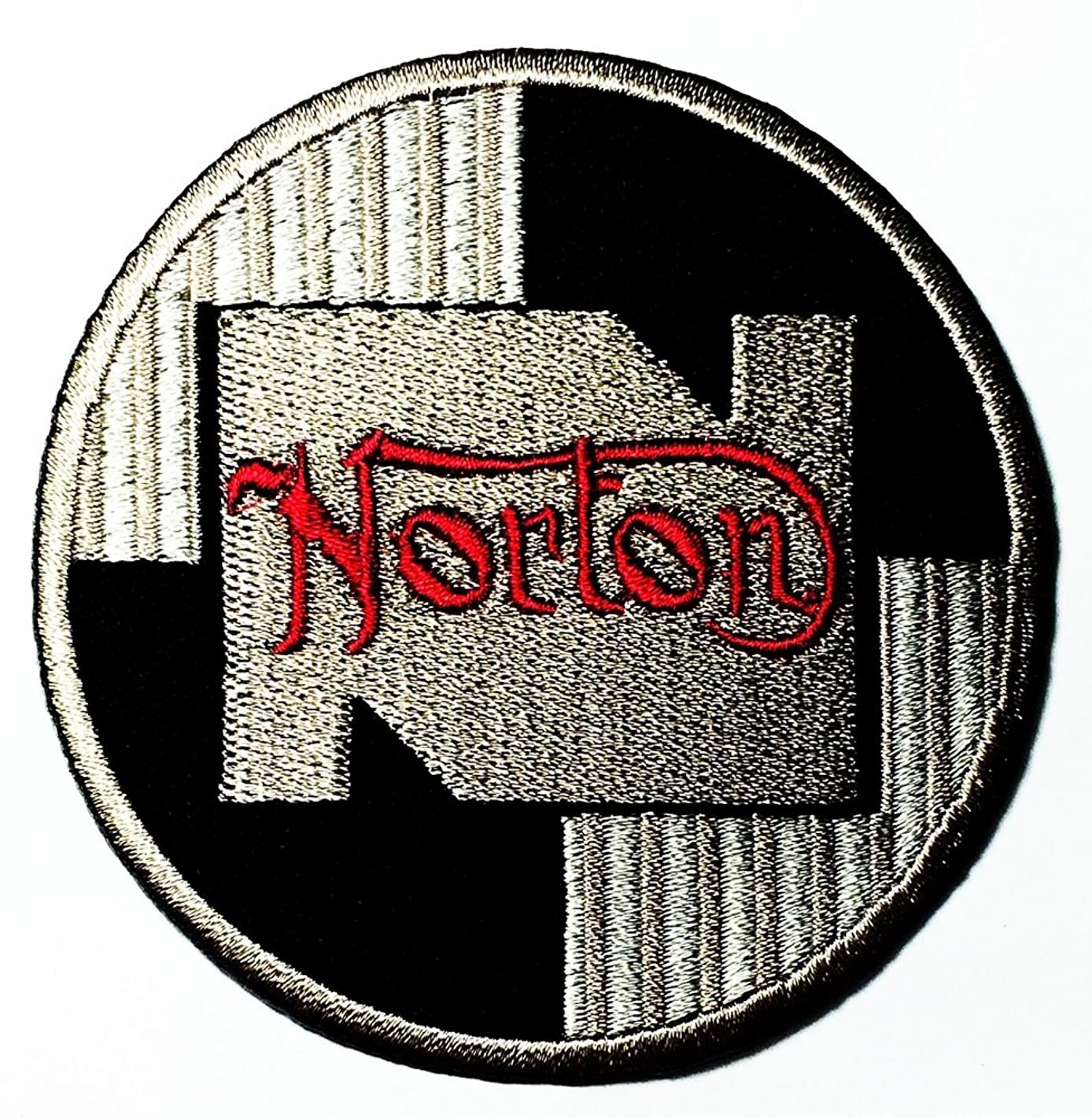 Norton wing blue Super Bikes Motorcycle Biker Motorcycles Motorsport Racing logo patch Jacket T-shirt Sew Iron on Patch Badge Embroidery