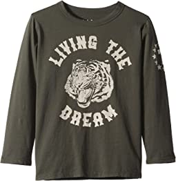 Super Soft Living The Dream Long Sleeve Tee (Little Kids/Big Kids)
