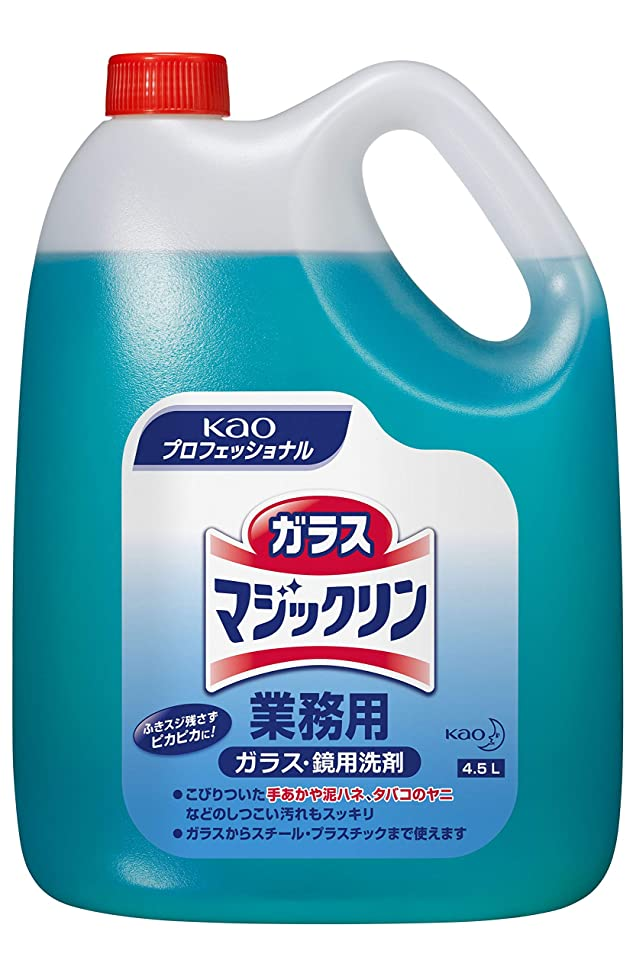 トピックスロット虎【業務用 ガラス用洗剤】ガラスマジックリン 4.5L(花王プロフェッショナルシリーズ)