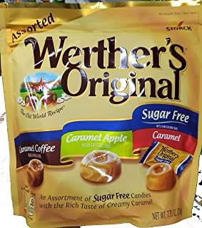 Werther's original sugar free assorted 7.7oz, pack of 1