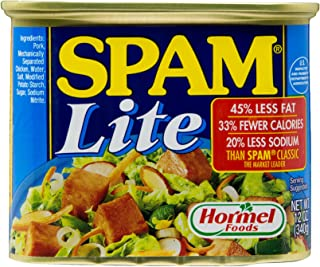 SPAM Lite Luncheon Meat, 340g