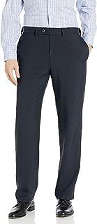 Haggar Men's eCLo Stria Expandable-Waist Pleat-Front Dress Pant