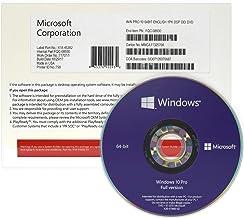 Microsoft Windows 10 Pro 32/64-bit, Box Pack, 1 License