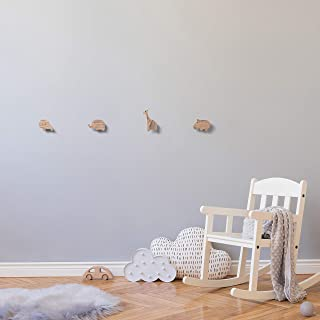 Wall Door Hooks For Kids Childrens Room Decoration Clothes Hanger Hook Lin