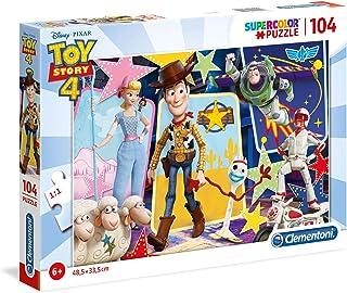 Clementoni Puzzle Toystory 4 104 Pieces 2, multicolor, 27129, 6800000293