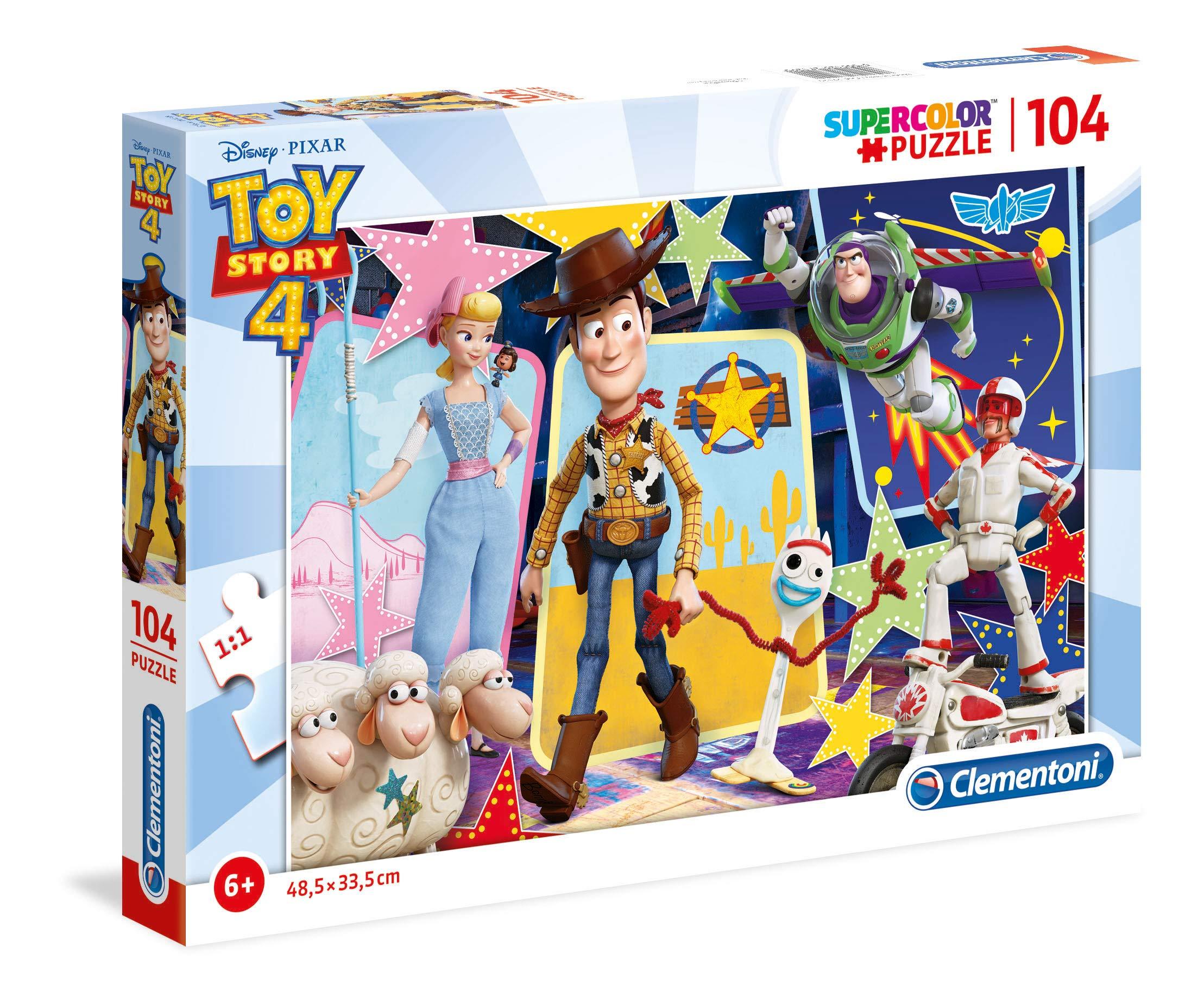 Puzzle 104 Piezas Toy Story 4 27129.0 Clementoni Multicolor