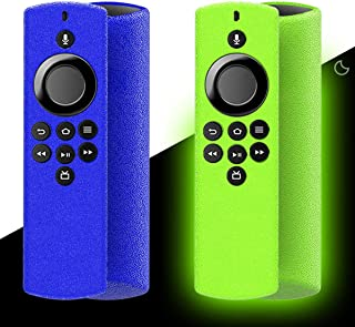 [2-Pack] Silicone Cover for Amazon Alexa Voice Remote Lite, [2020 Release] Protective Shock Absorption Case Skin for Fire ...