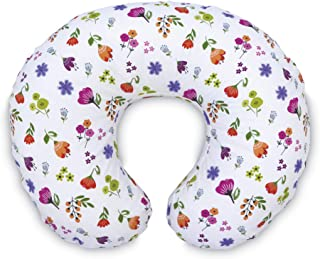 Boppy Original Pillow Cover, Bright Blooms, Cotton Blend Fabric with Allover Fashion, Fits All Nursing Pillows & Positioners