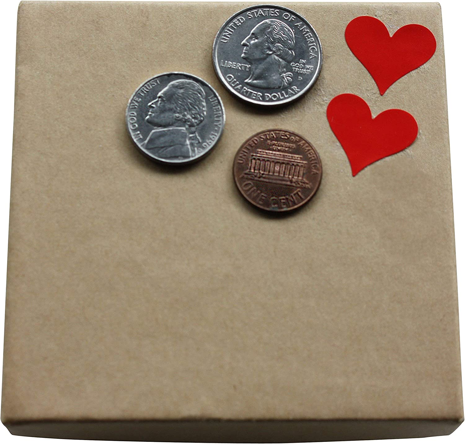 and Gift Boxes 19 mm Royal Green Heart Shaped Stickers 3//4 inch Black Stickers for Party Favors 200 Pack Goodie Bags