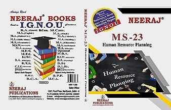 MS-23, Human Resource Planning