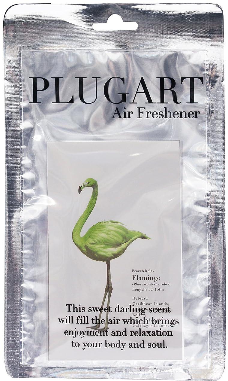 落ち着いて安全アルカトラズ島ノルコーポレーション サシェ プラグアート ハンガータイプ 消臭 ピュアグリーンティーの香り PLA-2-4
