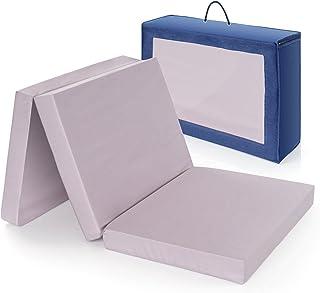 Alvi colchón cuna de viaje plegable 120x60 cm / Altura 6 cm