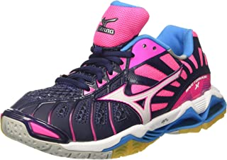 Womens Wave Tornado X Lace-Up Low-Top Volleyball Shoes