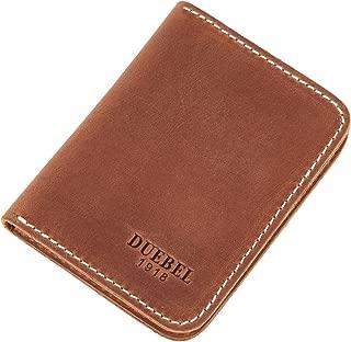 Full-grain Genuine Leather Slim Front Pocket Wallets, Minimalist Thin Card Holder, Card Case Wallet