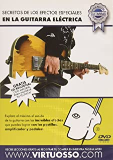 Virtuosso Special effects in Electric Guitar Method (Efectos Especiales En La Guitarra Electrica) SPANISH