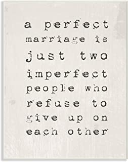 Stupell Industries A Perfect Marriage Wall Plaque, 10 x 15, Multi-Color
