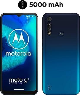 Motorola  Moto G8 Power Lite (Pantalla 65 HD+ procesador octa-core 2.3GHz cámara triple de 16MP batería de 5000 mAH Dual SIM 4/64GB Android 9) Azul