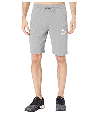 PUMA Iconic T7 10 Shorts (Medium Gray Heather) Men