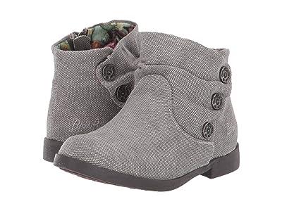 Blowfish Kids Saber-T (Toddler/Little Kid) (Steel Grey Gaucho Canvas 1) Girls Shoes