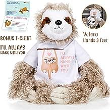 personalised sloth teddy