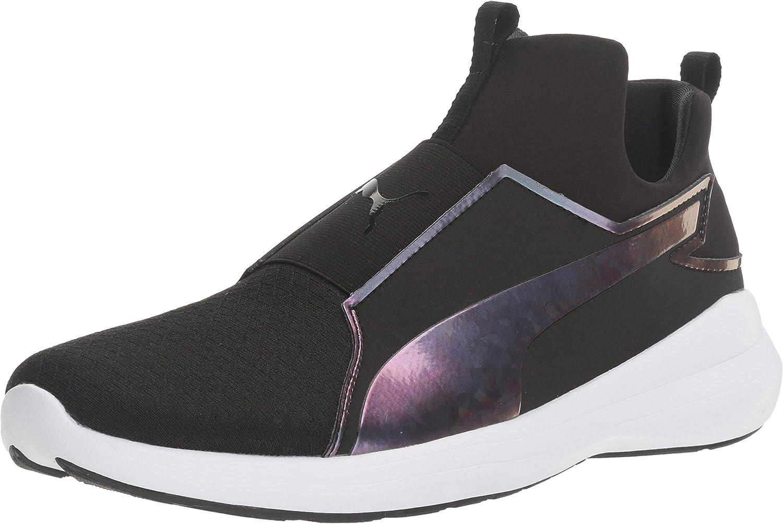 PUMA Womens Rebel Mid WNS Swan Cross-Trainer shoes