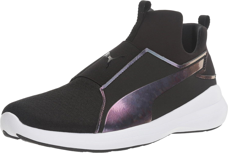 Amazon.com   PUMA Women's Rebel Mid WNS Swan Cross-Trainer Shoe ...